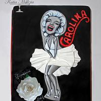 Caricature Cake Marilyn Monroe
