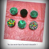 Mehndi / Henna Cupcakes by FiasCreations