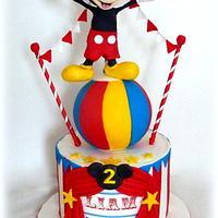 Mickey Mouse Circus theme