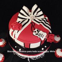 Gift Box, Cake