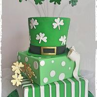 St Paddy's day cake