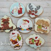 Christmas Relief Cookie