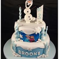 Olaf, Frozen cake