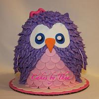 Owl cake by Bakermama
