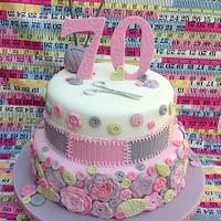 Knitting/Crochet cake
