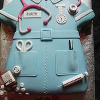 Naughty Nurse by Marie 2 U Cakes  on Facebook