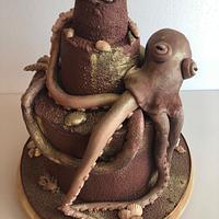 Kraken cake