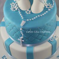 Baptism Cake by Carla