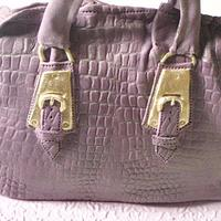 Purple handbag by Aoibheann Sims