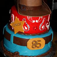 Cowboy Theme Cake