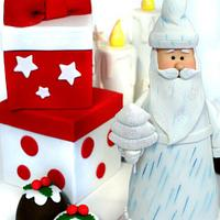 Santa Claus - Mini Christmas Cake