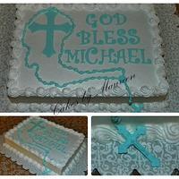Michael's first communion