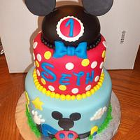 """""""Mickey Mouse cake"""" by Ana"""