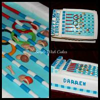 Swimming Pool Cake by Stef and Carla (Simple Wish Cakes)