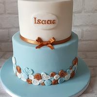 Christening Cake by Cakes of Art by Vicky