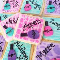 Cookies for Manicure party