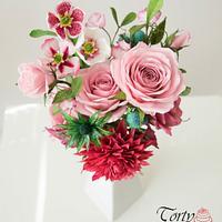 Sugar Flowers Bouquet