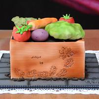 Janak's veggie crate