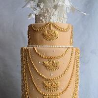 Beautiful Srilanka-Cake collaboration  by Divya iyer