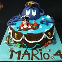 Pirate Cake for Mario