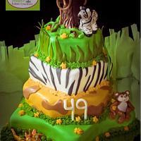 Safari/Jungle Cake