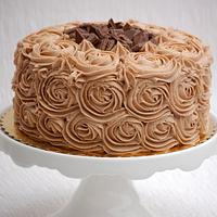 Mocha Buttercream 'Roses' by Lesley Wright