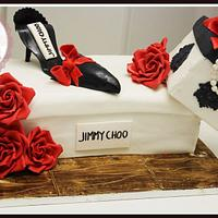 Gravity Defying Fashionista Cake! by Sweet Blossom Cakes