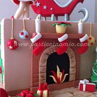 Christmas Cake by Pasticcino Mio
