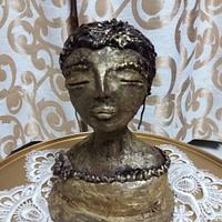 Edible structure lady by Heena Sagani