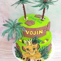 Simba cake