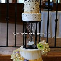 25th Anniversary Cake: Time