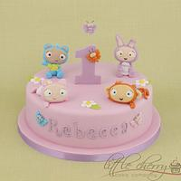 Waybuloo Cake by Little Cherry