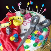 Seamstress Cake