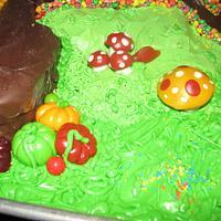 Willy Wonka Cake by Erika Lynn Cain