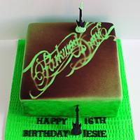 Parkway Drive 16th Birthday Cake
