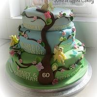 Flower Fairy Family Tree by Little Muffins Cakery