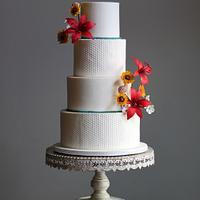 Sweet Texture Wedding Cake
