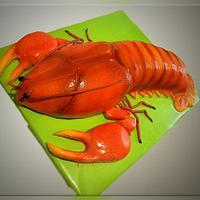 "Cake ""Red cancer"" by Svetlana"