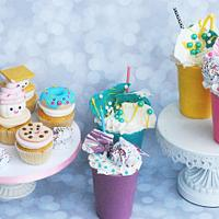 Milkshake cakes and cupcakes!