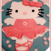 Hello Kitty cake by Le torte di Sabrina - crazy for cakes