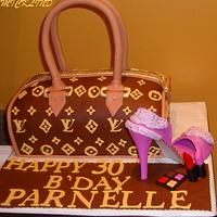 LOUIS VUITTON & SHOE FOR A 30TH B'DAY