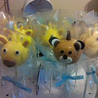 cute animal cakepops