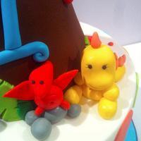 BABY DINO 1st BIRTHDAY by Kendra