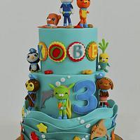 Octonauts Themed Cake