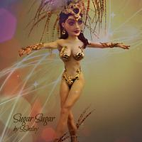 Samba Dancer - Sweet World Carnival Cake Collaboration
