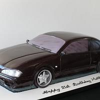 Black Nissan Car Tutorial