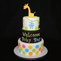 Giraffe Baby Shower Celebration