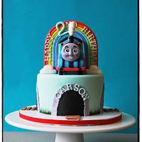 Thomas the Engine Cake