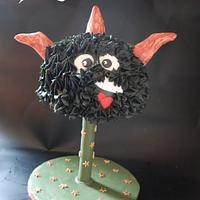 Cute Halloween Cake - Bob!