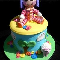lalaloopsy Doll cake : Pillow Featherbed by heather369